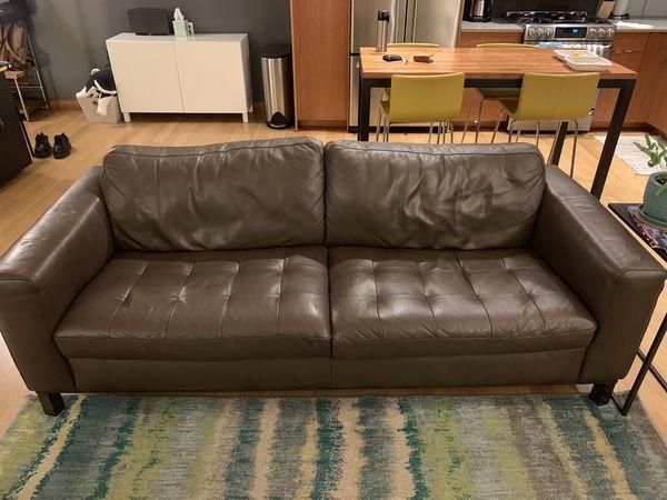 Kasala Leather Sofa For Sale In Seattle Wa Offerup