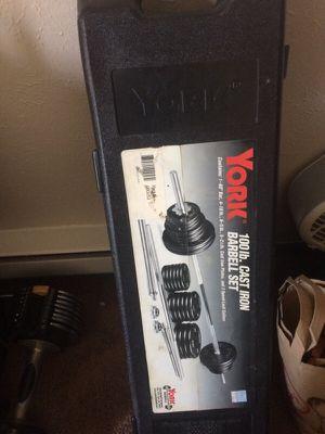 Barbell set for Sale in Falls Church, VA