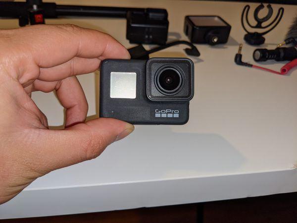 GoPro Hero 7 Black Vloging Steup
