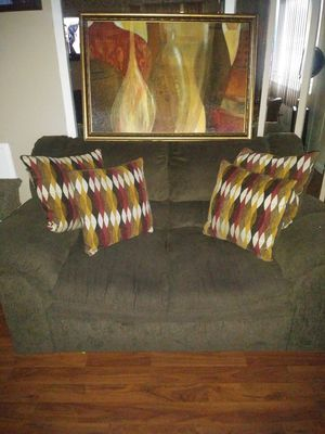 Loveseat & Picture for Sale in Catonsville, MD