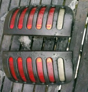 General Motors. Right And Left. tail light's plus black covers. Fits. Chevy Blazer's S10 Sonoma's Gmc Jimmy's Oldsmobile bravada's for Sale in Columbus, OH