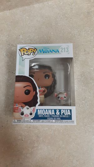 FUNKO POP! DISNEY #213 MOANA & PUA for Sale in Costa Mesa, CA