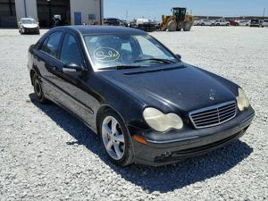 Mercedes Benz C Class W203 black interior parts for Sale in Los Angeles, CA