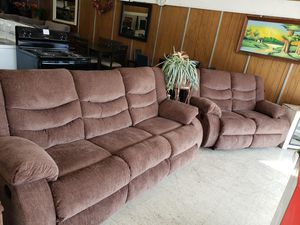 Ashley Reclining Sofa & Loveseat for Sale in Weslaco, TX