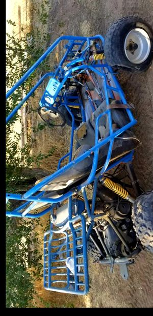 Go kart dune buggy side by side sand rail 150cc 4 stroke does run just needs gas and air on tires has reverse electric start pretty fast utv NOTRADES for Sale in Fontana, CA