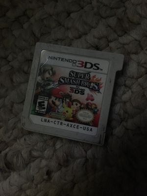 Super smash bros 3ds for Sale in Austin, TX