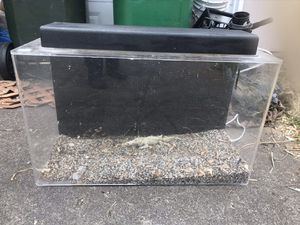 Acrylic 29 gal. Aquarium, awesome Canister filter & Inline Heater +++ for Sale in Beaverton, OR