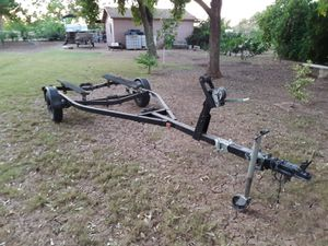 Boat trailer with title for Sale in Gilbert, AZ