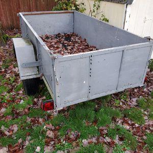 4'x8' Utility trailer $400 OBO for Sale in Vancouver, WA