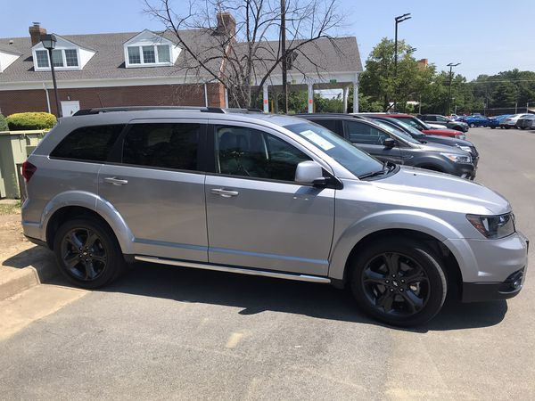 2018 Dodge Journey Crossroad AWD Loaded with 27,745 miles for $18,989!