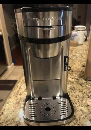 Hamilton Beach 49981A Coffee Maker Single Serve Silver for Sale in Las Vegas, NV
