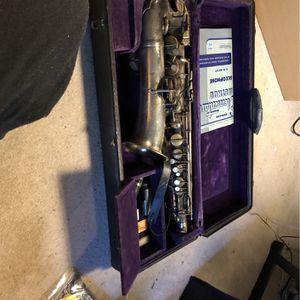 Vintage CCConn Saxophone With Original Case for Sale in Douglasville, GA