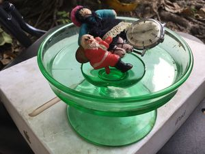 Antique green sherbet timex watch men's tiny Santa and tiny doll for Sale in Pinecrest, FL