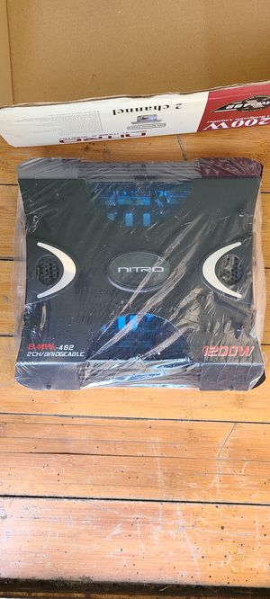 Nitro 1200 Wat amplifier and other for Sale in Los Angeles, CA