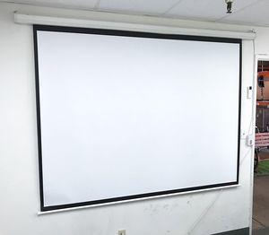 "New in box $55 Electric 100"" 4:3 Projector Screen Auto w/ Remote Control 80""x60"" for Sale in Whittier, CA"