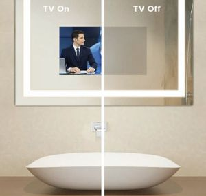 Fusion lighted TV mirror w Bose speaker and remote for Sale in Irvine, CA