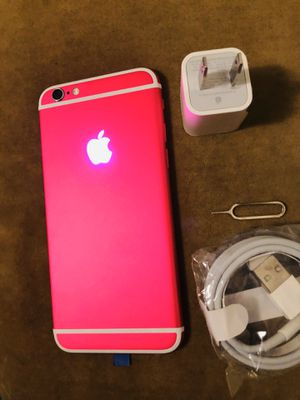 Apple iPhone 6 64gb Hot Pink Unlocked Glowing algo Firmed price for Sale in Queens, NY
