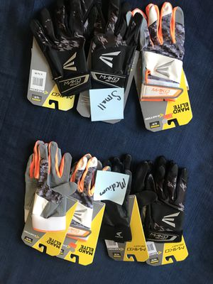 Baseball batting gloves brand new - adult and kids sizing for Sale in Spanish Springs, NV