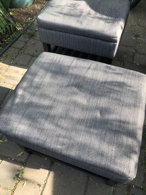 Set of two Ottomans with storage for Sale in Silver Spring, MD