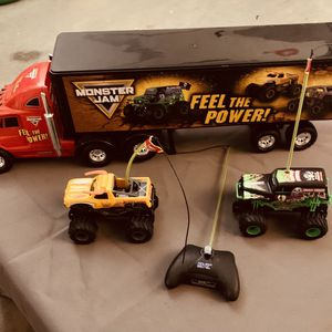 Monster Jam RC Set for Sale in Yorba Linda, CA