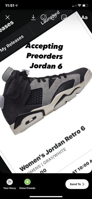 Size 9.5 men's Jordan 6 tech chrome follow me on instagram castrokickzz for Sale in New York, NY