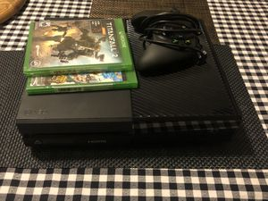 Xbox One with 2 brand new games for Sale in Modesto, CA
