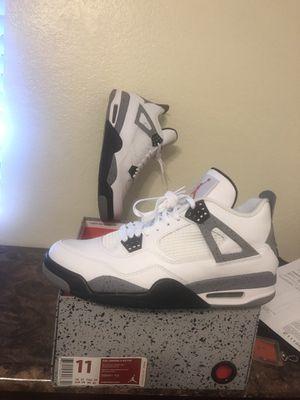Air Jordan retro IV. White Cement 4s for Sale in Mesa, AZ