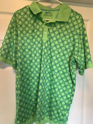 Slazenger golf shirt size L for Sale in Cadwell, GA