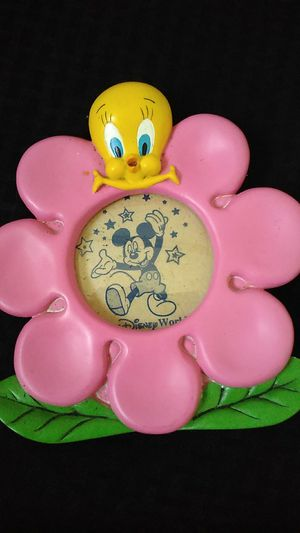 Tweety Bird photo frame 3x3 inches photo area for Sale in Tampa, FL
