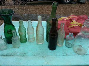 Vintage glass bottles all for 50 for Sale in Glen Burnie, MD