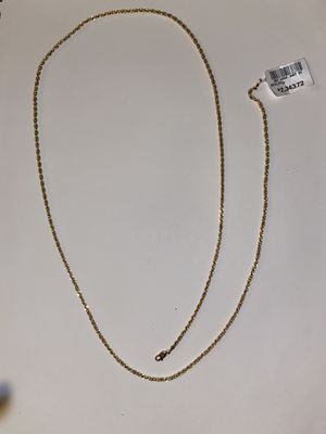 14K Rope Chain Brand New! for Sale in Tampa, FL