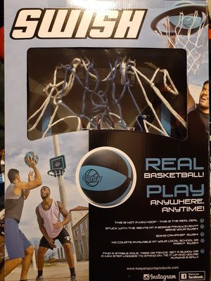 Swish portable basketball hoop for Sale in Westbury, NY