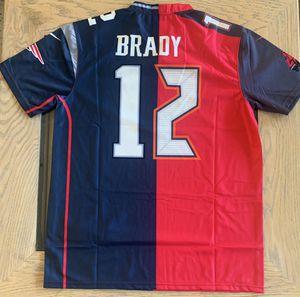 Brady Tampa Bay Patriots Split Jersey for Sale in Las Vegas, NV