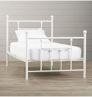 Metal Twin Platform Bed for Sale in Arlington, VA