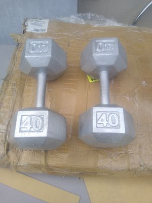 40lb dumbbells pair for Sale in Phoenix, AZ