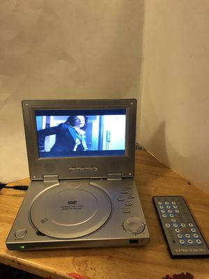 """PROTRON 7"""" DVD player WITH REMOTE POWER CORD AND CARRY CASE PICK UP ONLY HILLIARD AREA for Sale in Hilliard, OH"""