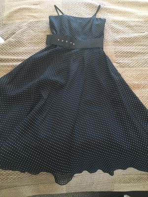 Jake's Polka Dot Dress Black and White Party Prom Homecoming school dance for Sale in Hesperia, CA