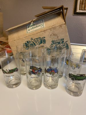 Collectible Avon Antique Car Glasses for Sale in Fresno, CA