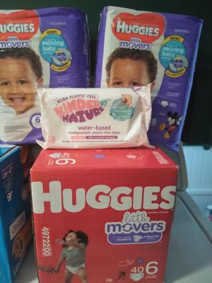 Huggies little movers for Sale in Penn Hills, PA