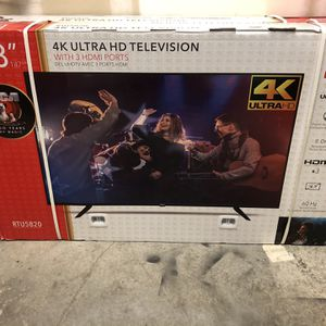 58 Inch 4K Ultra HD Tv for Sale in Chino, CA