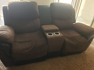 2 piece reclining sofa for Sale in Katy, TX
