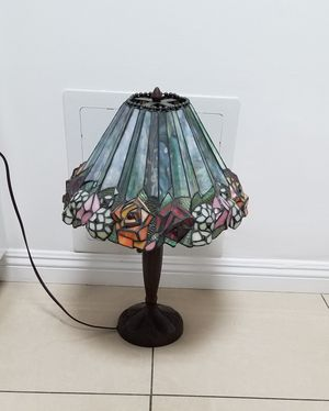 Stained glass table lamp for Sale in Burbank, CA