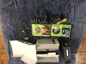 Xbox 360 Elite with complete set for Sale in Arlington, VA