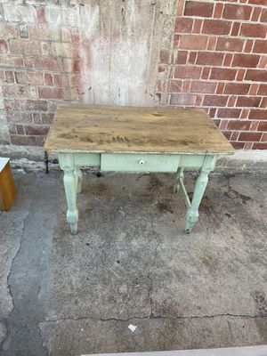 Rustic farmhouse wood table desk pick up or delivery la Mesa for Sale in San Diego, CA