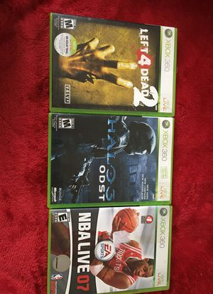 Xbox 360 games for sale for Sale in Everett, WA