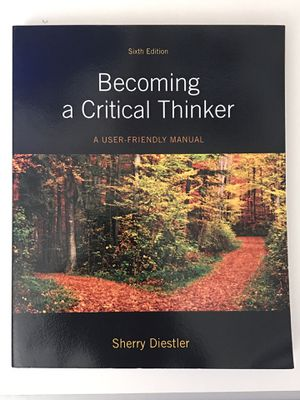 Sherry Diestler Becoming a Critical Thinker (6th Edition) for Sale in San Jose, CA