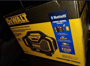 Dewalt 20v Bluetooth Radio and Charger for Sale in Las Vegas, NV