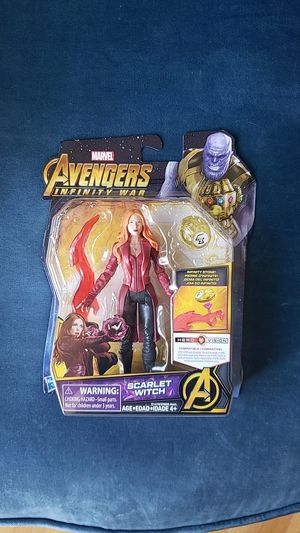 Marvel Avengers Infinti War Scarlet Witch for Sale in Mount Prospect, IL