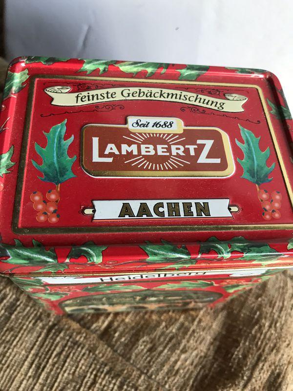 German music box tin