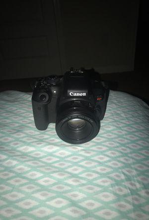 Canon Rebel T6i with 2 lenses for Sale in Atlanta, GA